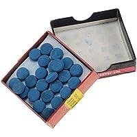 IPOTCH 50 Pedazos de Tapas de Protección Cabezal de Pala de Billar, Cubierta de Cabeza de Palo de Sustitución - 13 mm