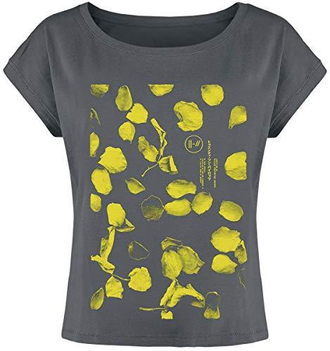 Twenty One Pilots Flower Petals T-Shirt Charcoal M
