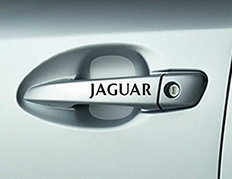6 x Jaguar Car Door Handle Decals Stickers Adhesives Premium Quality X Type XJS