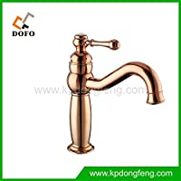 Modern fashion bathroom sink faucet European rose