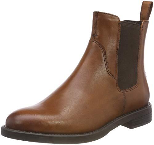 Vagabond Damen Amina Chelsea Boots, Braun (27 Cognac), 35 EU