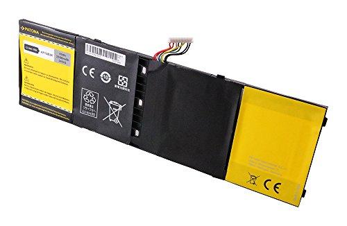 PATONA–Notebook Akku (3500mAh) für Acer Serie M5/R7/V5/V7, ersetzen der Batterie Typ 41CP6/60/78, AL13B3K, AP13B3K, KT. 00403.013, TIS 2217–2548, AP13B3K, AP13B8K (3500 Serie Notebook)