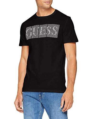 Guess Mens VINIIE Schwarz T-Shirts XXL