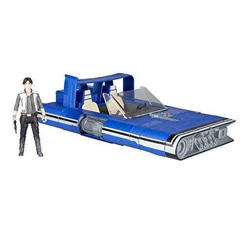 Star Wars – Mueble Force Link 2.0 han solo figura con Land Speeder, E1263