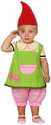 ATOSA 23966 - Kobold Kostüm, Größe 12-24 Monate, grün (Das Kobold Kostüm Baby)