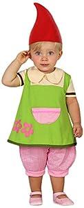 Atosa-23966 Disfraz Duende, color verde, 12 a 24 meses (23966)
