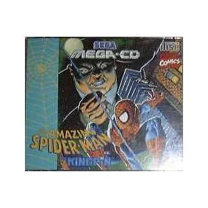 The Amazing Spiderman The Kingpin (Sega Mega CD für Sega Mega Drive)