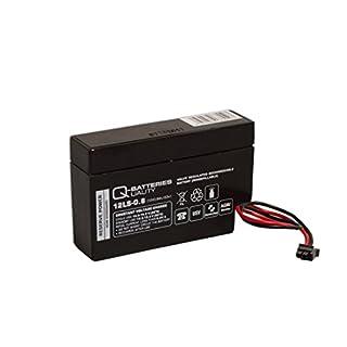 Q-Batteries 12LS-0.8 12V 0,8Ah AGM Blei-Vlies Akku Heim & Haus