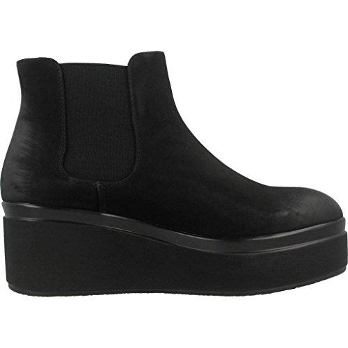 MTNG Stivali per Le Donne, Colore Nero, Marca, Modello Stivali per Le Donne Court Borough Mid Nero Nero