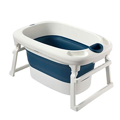 Bañera Bebe Bañera for bebés plegable Bañera de hidromasaje con bebé Baby Supplies hidromasaje...
