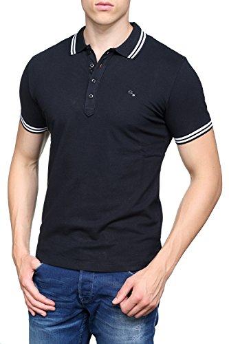 Diesel Herren Poloshirt Black