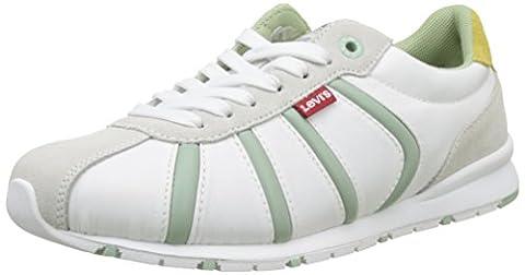 Levi's Damen Almayer II Sneakers, Weiß (Blanc), 39 EU