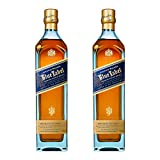 Johnnie Walker Blue Label, 2er, Blended Whisky, Scotch, Alkohol, Alkoholgetränk, Flasche, 40%, 700 ml, 688868