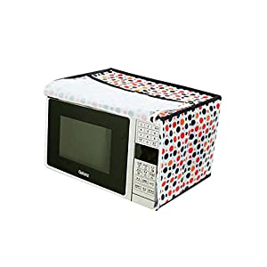 Furnishing Kingdom Multicolors Microwave Oven Cover for 20 Liter