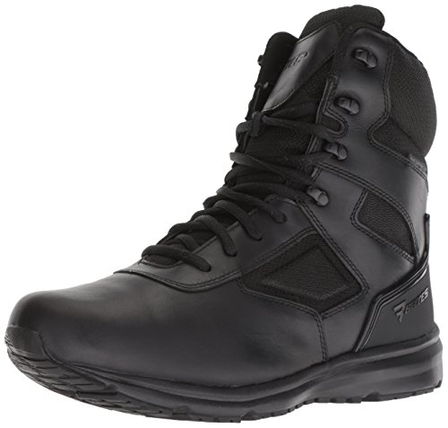 Bates Herren RAIDE Waterproof Side Zip Leder Black Stiefel 43 EU Bates Side Zip Boot
