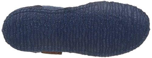 Giesswein Kristiansand, Chaussons Montants Doublé Chaud Femme Bleu (527)