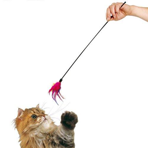 Karlie Federwedel, Federspielzeug für Katzen