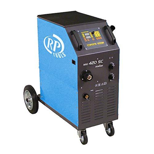 Schutzgas Schweissgerät Schweißgerät MIG MAG luftgekühlt 30-420 A 3x400V digital 0.8-1.2 mm 4 Rollen Vorschub Made in EU