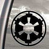 Star Wars Galactic Empire vinilo adhesivo para ventanas de camión, color negro
