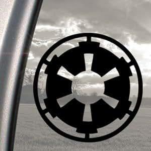 Star Wars en noir Empire galactique Truck fenêtre Sticker