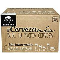 #Cervezanía - Kit de elaboración de cerveza rubia Pale Ale. Elabora 5 litros cerveza en casa