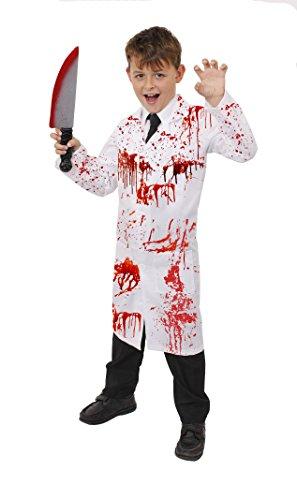 Halloween Kostüme Irrenanstalt (KINDER HALLOWEEN ZOMBIE = ARZTKITTEL ODER DER VERRÜCKTE PROFESSOR/ DER KLEINE DOKTOR = VON ILOVEFANCYDRESS®=ERHALTBAR IN VERSCHIEDENEN GRÖßEN = DIE PERFEKTE KINDER HALLOWEEN KOSTÜM VERKLEIDUNG = JEDES KOSTÜM BEINHALTET =)
