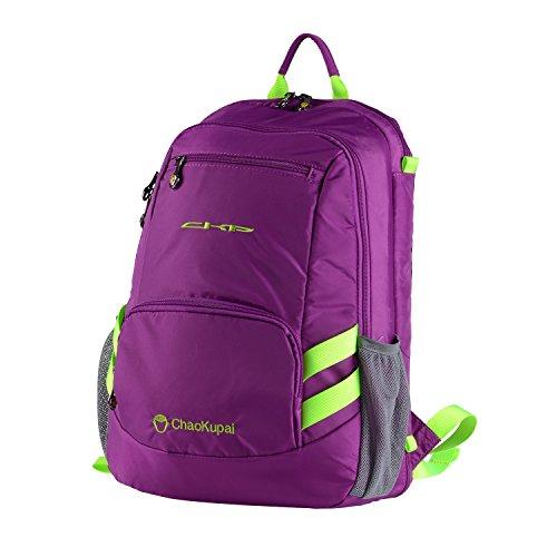 WEGEWANG Multifunktionsmatte Rucksack für Familie auf Gras und Strand, nicht professionelle Outdoor wasserdichte Sackpack, schmutzabweises Picknick-Teppich-Tasche (Violett)