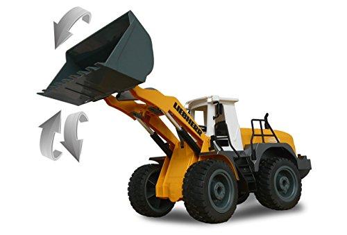 jamara-405007-radlader-liebherr-564-120-24g-schaufel-heben-senken-abkippen-realistischer-motorsound-abschaltbar-programmierbare-funktionen-blinker-autoabschaltfunktion-2-radantrieb-4
