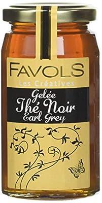 FAVOLS Gelée Thé Noir Earl Grey 270 g - Lot de 3