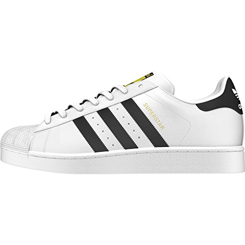 reputable site d3012 d2e75 ADIDAS SUPERSTAR CLASSIC SNEAKERS BIANCO-NERO S81858 - 36, BIANCO
