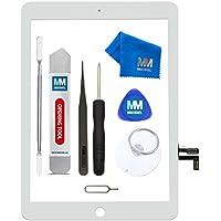 MMOBIEL Digitizer kompatibel mit iPad 5 2017 (Weiss) 9.7 Inch Touchscreen Display Ersatz inkl. Werkzeug