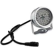 48-LED nocturna por infrarrojos CCTV IR Visión iluminador de luz para cámara de visión nocturna de seguridad