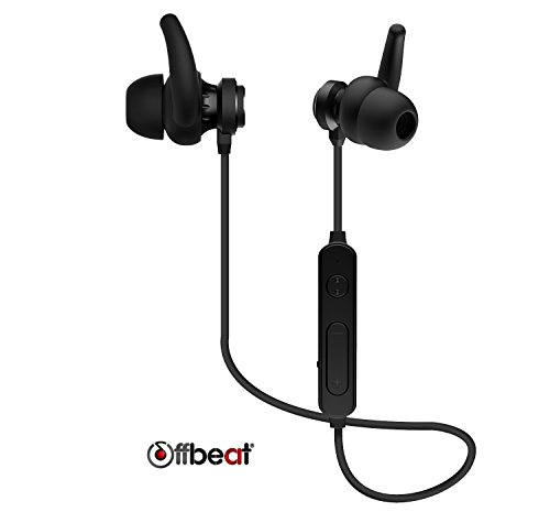 Offbeat Trance V1 Bluetooth Water-Proof In-Ear Earphones with In-Built Mic for All Smartphones