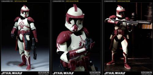 Star Wars: Clone Commander Fox Sixth Scale Figure (SDCC12 Exclusive) (Clone Fox Commander)