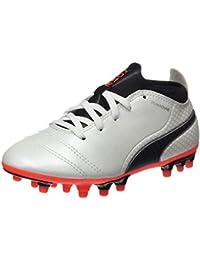 Puma Unisex Kids' One 17.4 AG Jr Footbal Shoes