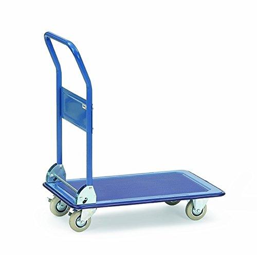 Fetra Ganzstahlwagen, Tragkraft 150 kg, 1 Stück, blau, 3100