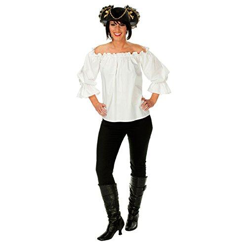 (Rubies 1 3436 38 - Kostüm Piratenbluse Größe 38)