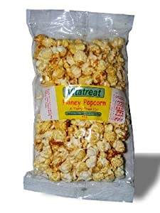 HONEY POPCORN 2 x BAGS THE TASTY TREAT FOR HAMSTERS RATS RABBITS GUINEA PIGS by vitaa treat