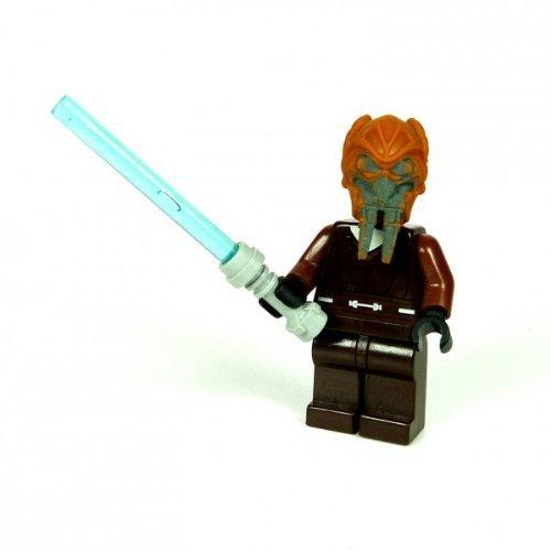 Lego Star Wars Figur Jedi Plo Koon braun mit Laserschwert blau 8093 F30 (Star Wars Lego-jedi Mit)