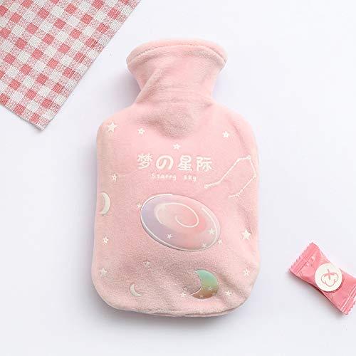 Foundation Star (DishyKooker Wärmflasche aus Plüsch mit Wärmflasche für Studenten, warme Wassertasche - für Büro und Schule Foundation Star Small 350ML)