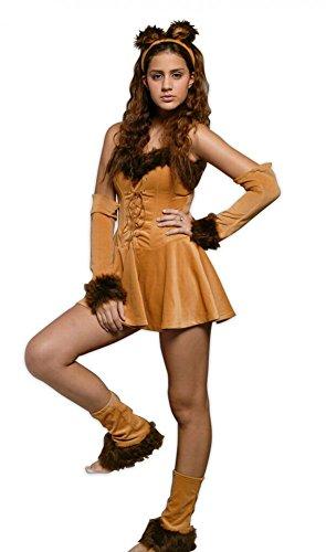 Kostüm SEXY LION, Größe:M/L (Lion Damen Kostüme)