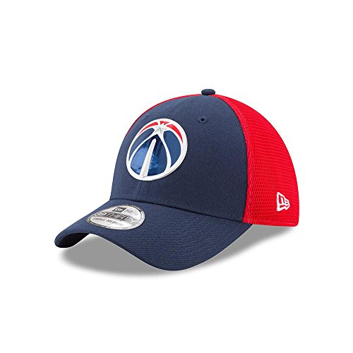 newest f7822 2bc1e A NEW ERA NBA Washington Wizards 2017 Authentic On-Court 39THIRTY Stretch  Fit Cap,