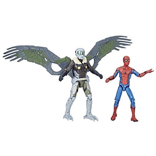 Spider-Man C1407EL20 Marvel Legends and Vulture Figure, Pack of 2
