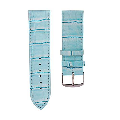 band, 12 mm, weiches Schweißband, Stahlschnalle, Modeschmuck, für mehr als 5 Dollar, Geschenke für Sie as shown blau ()
