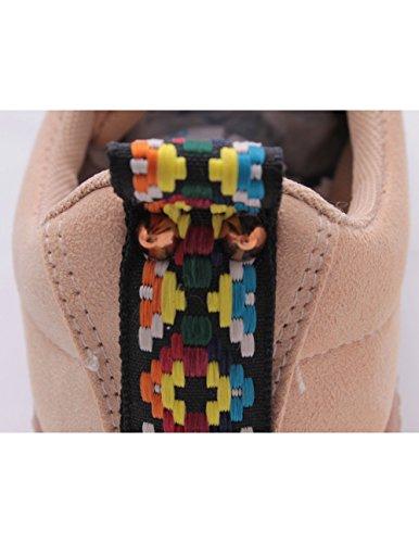 Studio Creazioni Chaussures de Ville à Lacets Pour Femme Beige