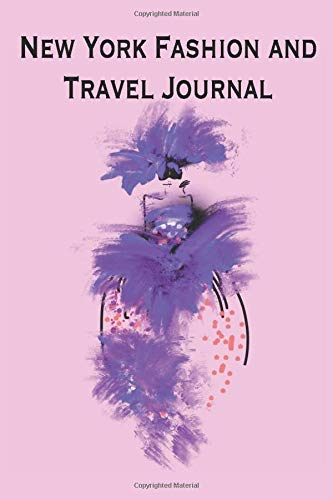 New York Fashion and Travel Journal: This little journal is the perfect size and accessory to accompany on your way in this exciting city. The  inner ... you plenty of room for sketching and writing.