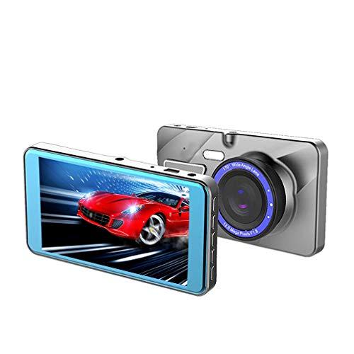 Dash Cam / 4-Zoll / 1080P 2.5D Spiegel vorne und hinten Dual Video/Driving Recorder/Bewegungserkennung/HD Nachtsicht/Schwerkraftsensor/Hochtemperaturbeständigkeit und keine Verformung