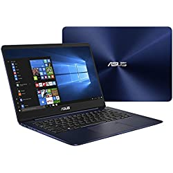 "Asus ZenBook UX430UN-GV030T Ultrabook, Display da 14"", Processore i7-8550U, 1.8 GHz, SSD da 512 GB, 16 GB di RAM, nVidia GeForce MX 150, Blu [Layout Italiano]"