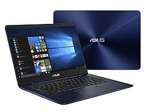 "Asus ZenBook UX430UN-GV030T Ultrabook, Display da 14"", Processore i7-8550U, 1.8 GHz, SSD da 512 GB, 16 GB DDR3, nVidia GeForce MX 150, Blu [Layout Italiano]"