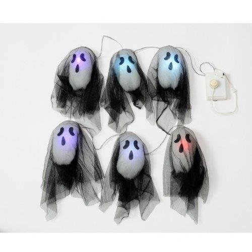 Preisvergleich Produktbild Amscan International Ghost Lights (Black)